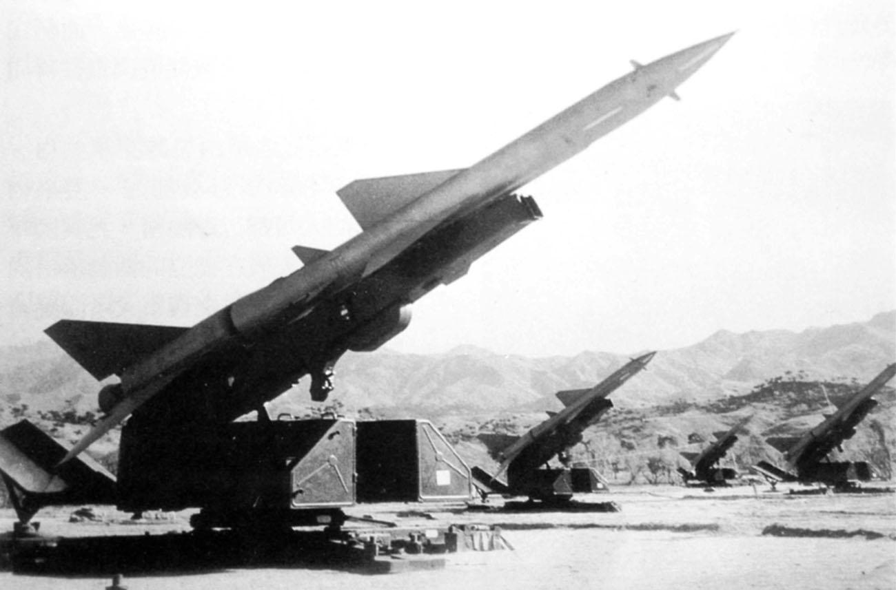 "El primer ""SAM KILL"" SAM-2-2AG"