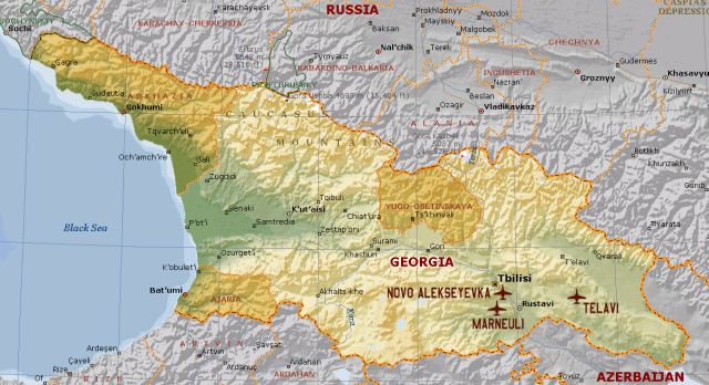 Georgia And Abkhazia 19921993 The War Of Datchas  Www